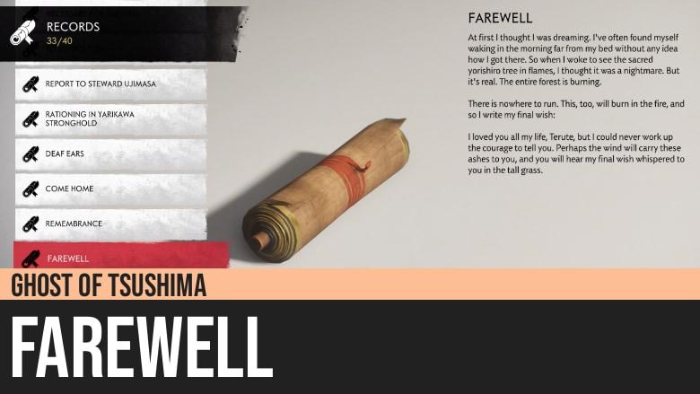Ghost of Tsushima: Farewell
