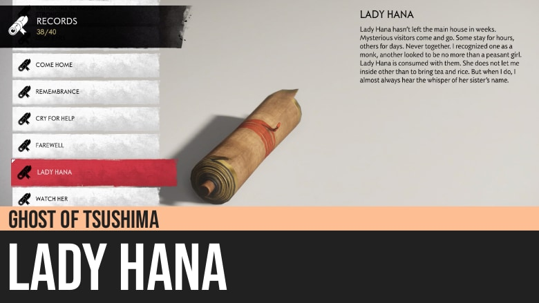 Ghost of Tsushima: Lady Hana