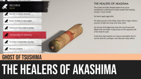 Ghost of Tsushima: The Healers of Akashima