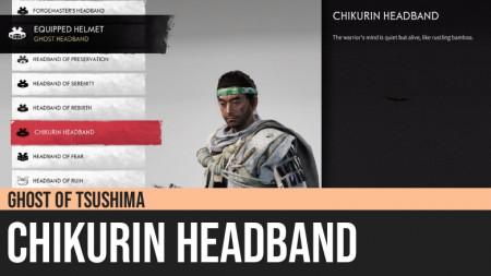 Ghost of Tsushima: Chikurin Headband