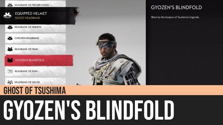 Ghost of Tsushima: Gyozen's Blindfold
