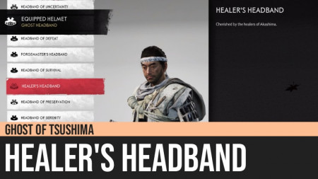 Ghost of Tsushima: Healer's Headband