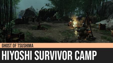 Ghost of Tsushima: Hiyoshi Survivor Camp