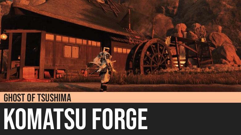 Ghost of Tsushima: Komatsu Forge