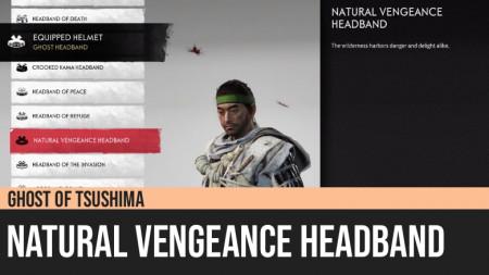 Ghost of Tsushima: Natural Vengeance Headband