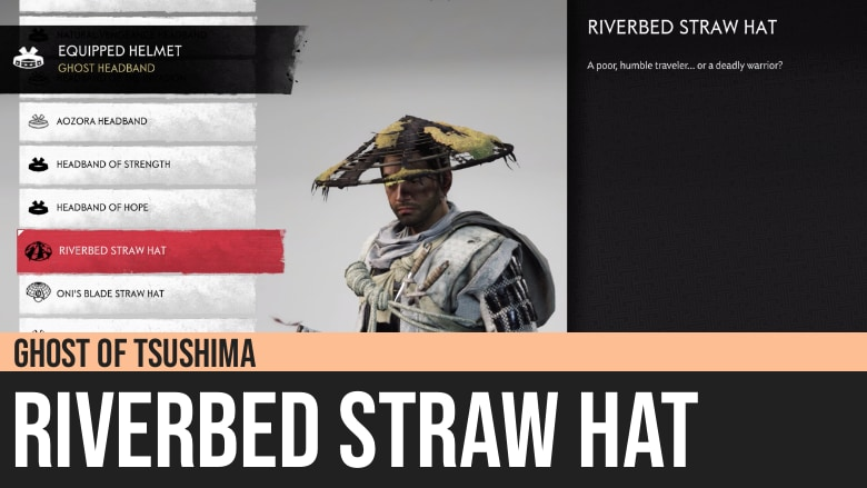 Ghost of Tsushima: Riverbed Straw Hat