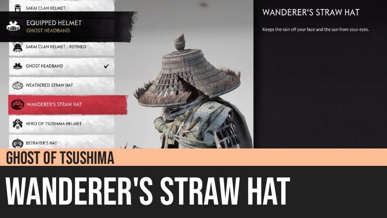 Ghost of Tsushima: Wanderer's Straw Hat