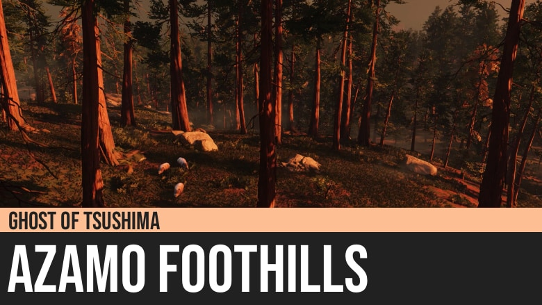 Ghost of Tsushima: Azamo Foothills