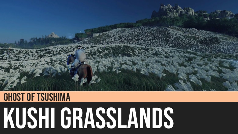 Ghost of Tsushima: Kushi Grasslands