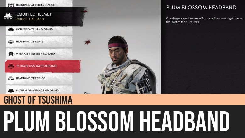 Ghost of Tsushima: Plum Blossom Headband