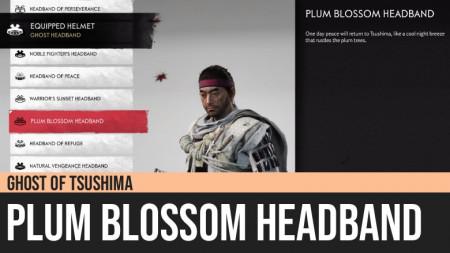 Ghost of Tsushima: Plum Blossom Headband