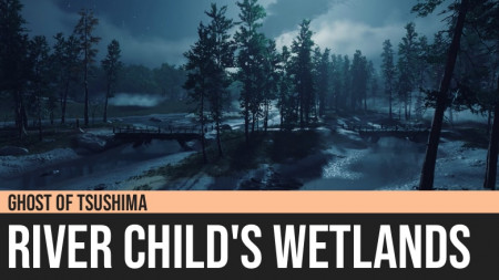 Ghost of Tsushima: River Child's Wetlands