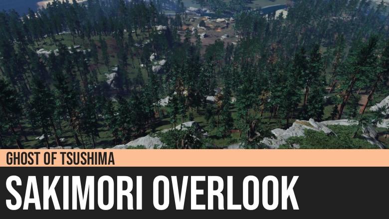 Ghost of Tsushima: Sakimori Overlook