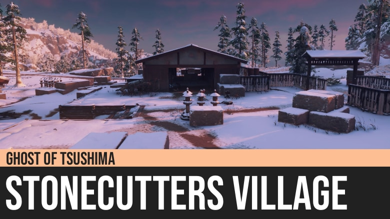 Ghost of Tsushima: Stonecutters Village