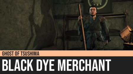 Ghost of Tsushima: Black Dye Merchant