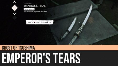 Ghost of Tsushima: Emperor's Tears