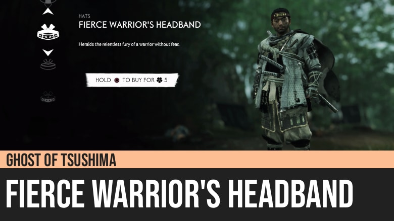Ghost of Tsushima: Fierce Warrior's Headband