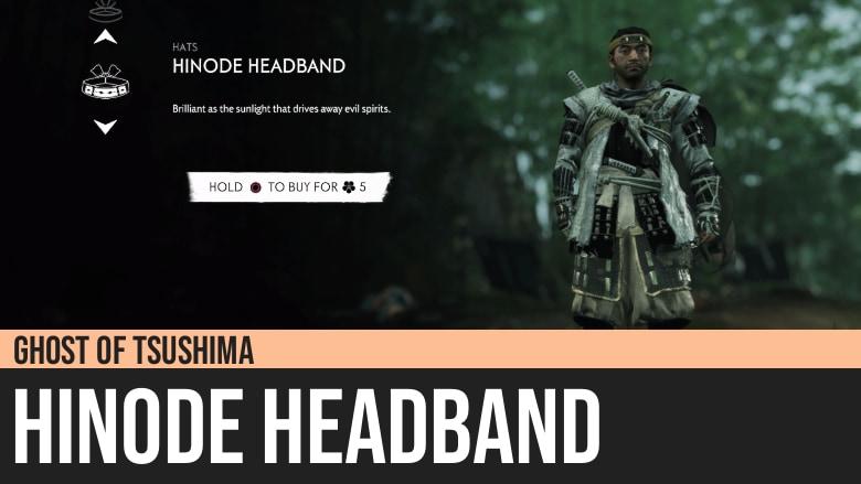 Ghost of Tsushima: Hinode Headband