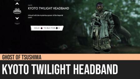 Ghost of Tsushima: Kyoto Twilight Headband