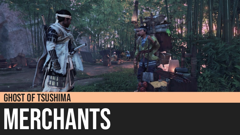 Ghost of Tsushima: Merchants