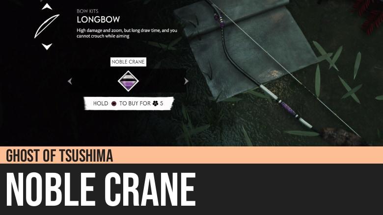 Ghost of Tsushima: Noble Crane