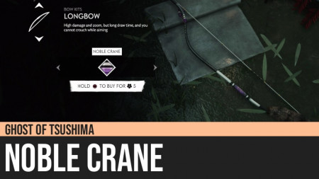 Ghost of Tsushima: Noble Crane