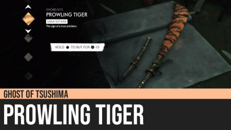 Ghost of Tsushima: Prowling Tiger