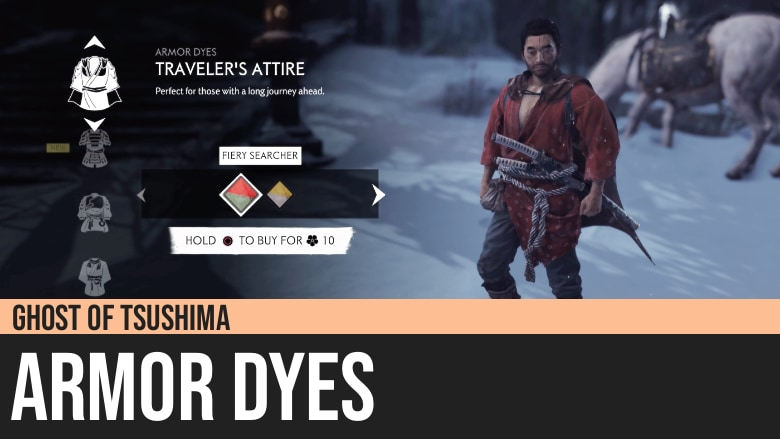 Ghost of Tsushima: Armor Dyes