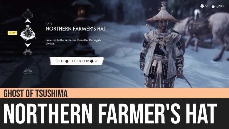 Ghost of Tsushima: Northern Farmer's Hat