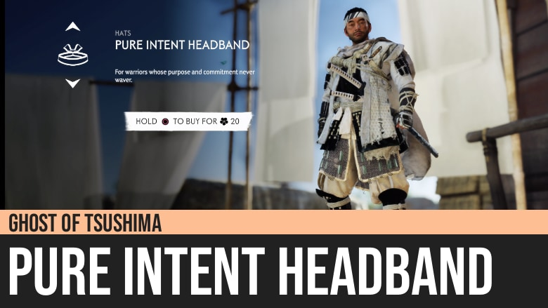 Ghost of Tsushima: Pure Intent Headband
