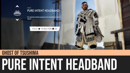 Ghost of Tsushima: Pure Intent Headband