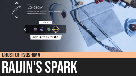 Ghost of Tsushima: Raijin's Spark