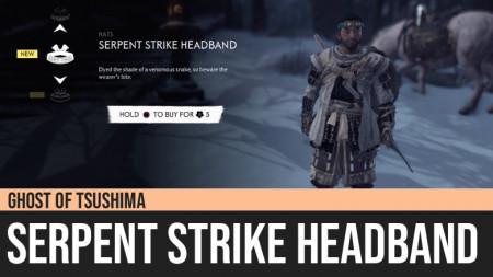 Ghost of Tsushima: Serpent Strike Headband