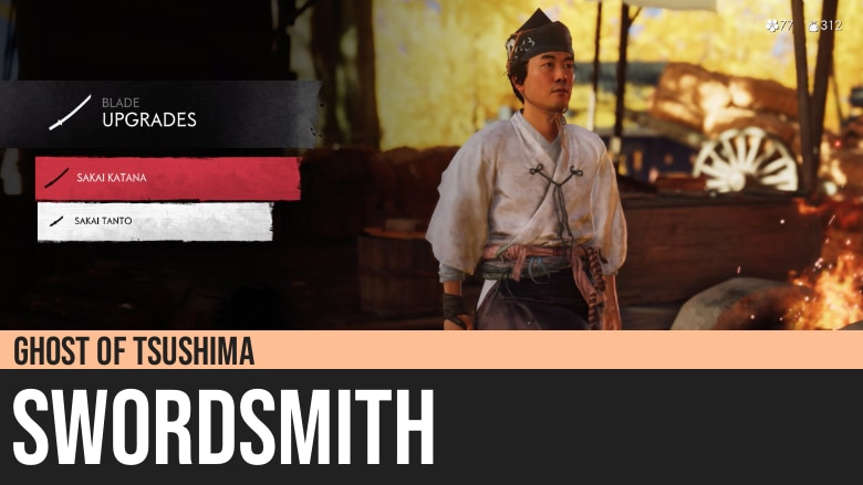 Ghost of Tsushima: Swordsmith