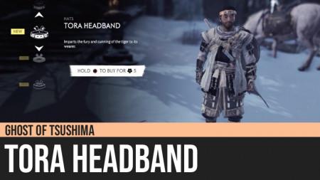 Ghost of Tsushima: Tora Headband