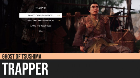 Ghost of Tsushima: Trapper