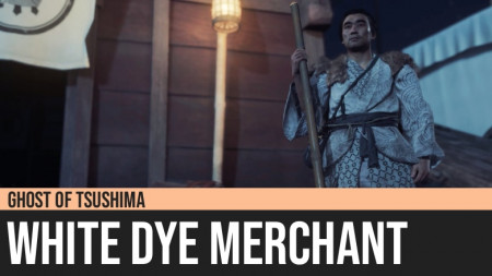 Ghost of Tsushima: White Dye Merchant