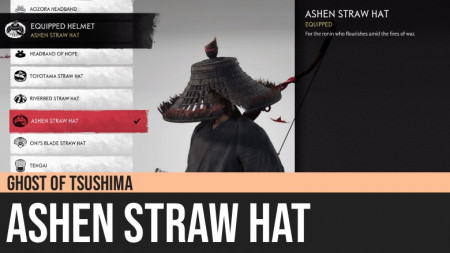 Ghost of Tsushima: Ashen Straw Hat
