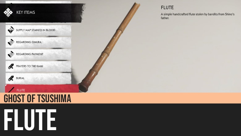 Ghost of Tsushima: Father's Flute