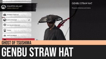 Ghost of Tsushima: Genbu Straw Hat