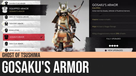 Ghost of Tsushima: Gosaku's Armor
