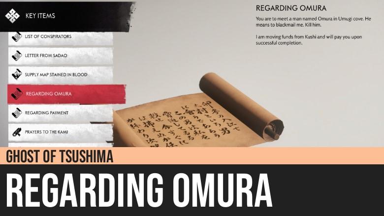 Ghost of Tsushima: Regarding Omura