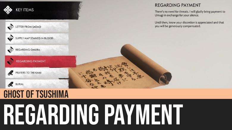 Ghost of Tsushima: Regarding Payment