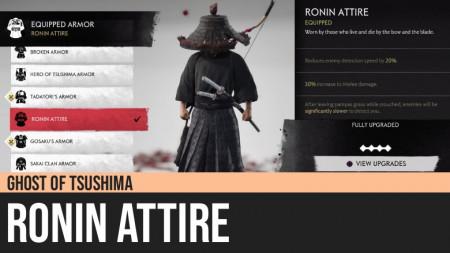 Ghost of Tsushima: Ronin Attire