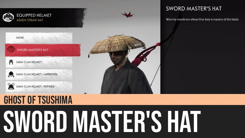 Ghost of Tsushima: Sword Master's Hat
