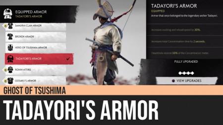 Ghost of Tsushima: Tadayori's Armor