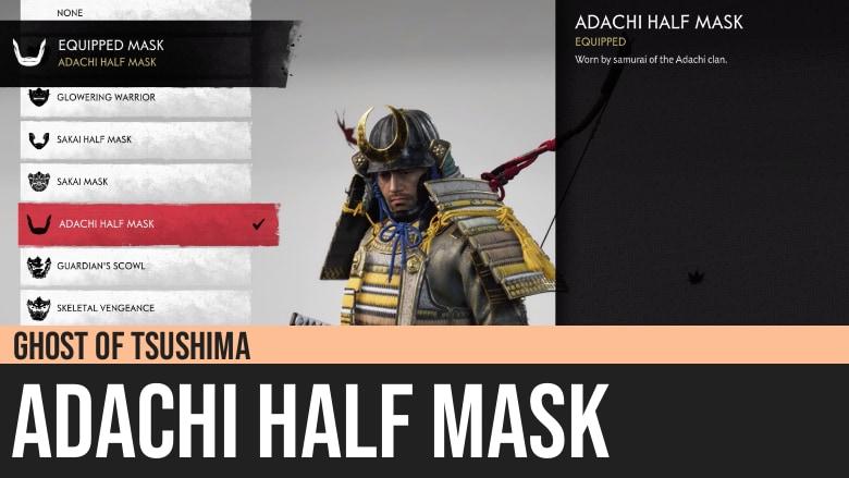 Ghost of Tsushima: Adachi Half Mask