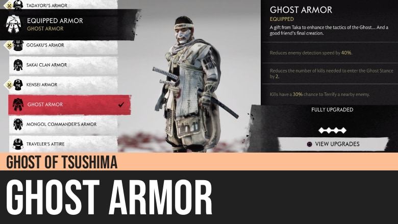 Ghost of Tsushima: Ghost Armor