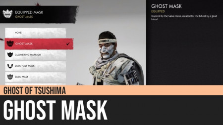 Ghost of Tsushima: Ghost Mask