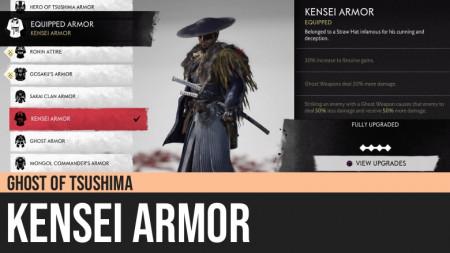 Ghost of Tsushima: Kensei Armor